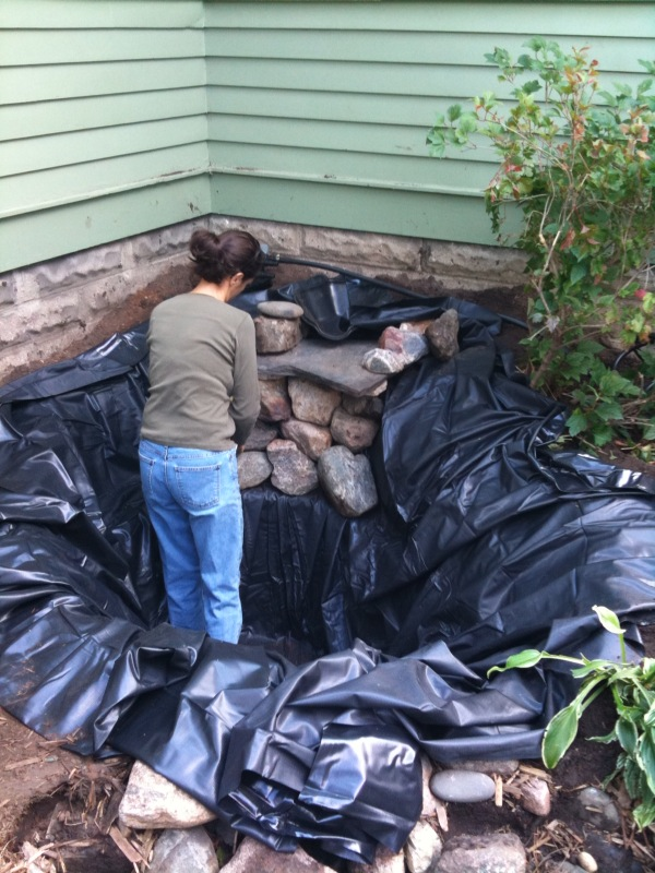 Measure twice cut once rocks 39 n 39 roots for Pond liner calculator